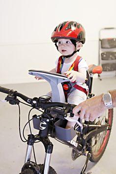 cool baby bike seat