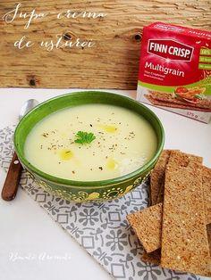 Supă-cremă de usturoi (de post) Soup Recipes, Vegetarian Recipes, Healthy Recipes, Healthy Food, Vegan Foods, Vegan Desserts, Tasty, Yummy Food, Multigrain