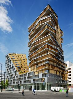 The 1st residential high rise building to be constructed in Paris since the 1970s.