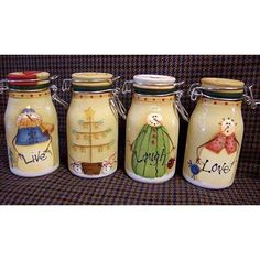 The Decorative Painting Store: Live Love Laugh Jars DOWNLOAD, Christmas, Winter, & Snowmen