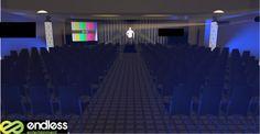 Small conference set up. #eventpros #events #conference #businesssetup #design #CAD