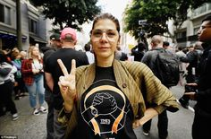 Actress Marisa Tomei participates in March For Our Lives Los Angeles while wearing a Time's Up shirt March For Our Lives, Singing Happy Birthday, Slogan Tee, Celebs, Celebrities, Cool Bands, Up Shirt, Crowd, Celebrity Style