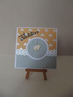 """Carte naissance """"FELICITATION"""", faire part de naissance, invitation d'anniversaire pour enfant, à personnaliser selon votre envie : Faire-part par coco-et-ses-creations"""