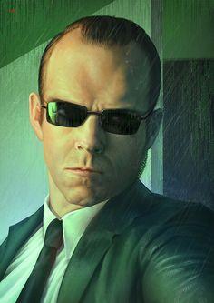b34df61a09 Agent Smith - Matrix by Lun-art Agent Smith Matrix