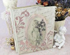 Book shaped box Jewelry box Decoupage box by VintageLullabyDesign