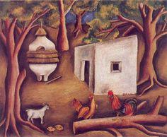 """Maria Izquierdo, """"Los Gallos"""", 1944"""