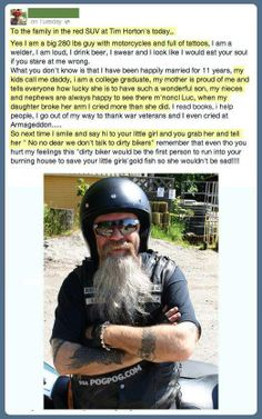 Awesome.Never judge a book by its cover!