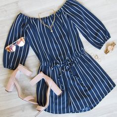 Sizzlin' Summer Off The Shoulder Romper