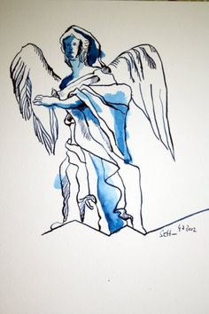 An Angel in Florenz  www.susannehaun.com