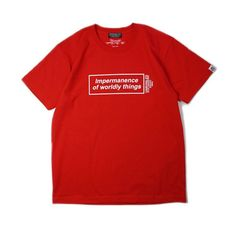 """ANRIVALED by UNRIVALED """"IOWT-SHIRT"""" RED 