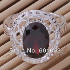GY-AR039 SIZE 8 # BIG sale ! Free Shipping Wholesale 925 silver fashion RING PJJHKGJGD US $3.99