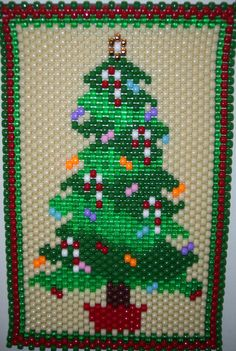 Christmas Tree made by kareyakcreations.com