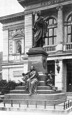 Felix Mendelssohn (1809 - 1847) - Monument removed by the Nazi's as he was Jewish never to be seen again