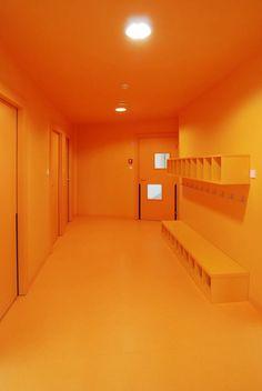 Family Creche In Drulingen, Drulingen, 2010 by Fluor architects Rainbow Aesthetic, Orange Aesthetic, Aesthetic Colors, Aesthetic Pictures, Light Orange, Orange Color, Orange Orange, Orange Tapete, Le Vent Se Leve