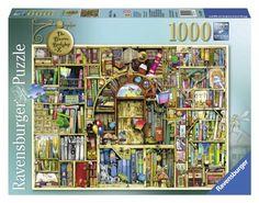 Ravensburger Bizarre Bookshop 2 Jigsaw Puzzle (1000-Piece) Ravensburger http://smile.amazon.com/dp/B00DBWAVYY/ref=cm_sw_r_pi_dp_Tq2Aub1PJZGN6