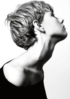 #hair Crop volume #hair #pixiecut #pixie