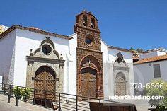 Spain, Canary Islands, La Gomera, San Sebastian de La Gomera, Iglesia de la Asuncion