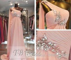 Discount New Arrival Straight Sleeveless One Shoulder Zipper Floor-Length Beading Pleats Chiffon 2014 Bridesmaid Dresses Summer Evening Dresses Online with $127.75/Piece | DHgate