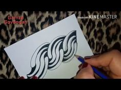 How to draw UDUDU tangle pattern ? - YouTube