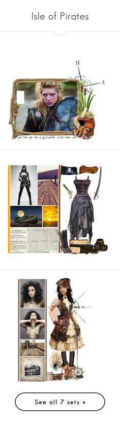 """Isle of Pirates"" by fashionqueen76 ❤ liked on Polyvore featuring art, Trademark Fine Art, Ready2hangart, Bohemian Society, Elope, Adeco, Bling Jewelry, Seed Design, Barclay Butera and Bow & Arrow"
