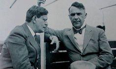 Karinthy Frigyes és Kosztolányi Dezső egy hajóúton. (1929.)(480×289)
