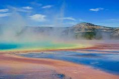 Prismatic Spring, Yellowstone National Park, Wyoming