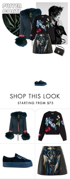 """Untitled #1669"" by hil4ry ❤ liked on Polyvore featuring Converse, Alessandra Chamonix, Anthony Vaccarello, Superga and Topshop"