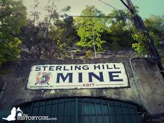 The Sterling Hill Mining Museum in Ogdensburg, NJ is a former iron and zinc mine. Mining began as early as 1730 and was the last working underground mine in NJ when it closed in 1986. Along with the nearby Franklin Mine, it is known for its variety of minerals, especially the fluorescent varieties. There are 35 miles of tunnels, going down to 2,065 feet below the surface on the main shaft. The site was added to the NJ Register of Historic Places in 1991. Discover more @ www.thehistorygirl.com