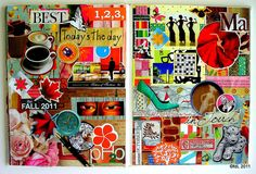 https://flic.kr/p/aCsxQr | Forever 12 | en_Otoño  November 2011/ Noviembre 2011  Hardcover. Visual Journal. Altered Book. 21 x 28 cms. 8.5 x 11 in. Double spread. Collage on paper. Handmade. Not digital images at all. Instants, sighs. Life.  ©fdL2011