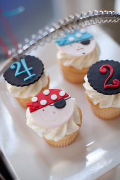 Pirate Party - Pirate Cupcakes