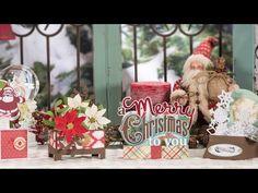 Christmas Box Cards SVG Kit - Trailer
