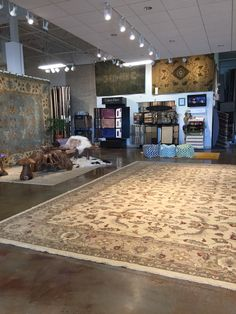 This is our showroom. #gallery #rugs #handmaderugs #columbus #cbus