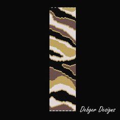 peyote bracelet pattern | ... Peyote Bracelet Cuff Pattern | DebgerDesigns - Patterns on ArtFire