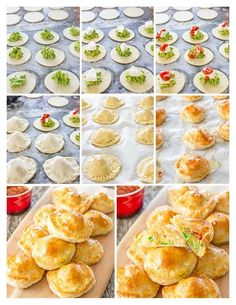 Avocado Mozza Puffs ingredients 1 package puff pastry sheets inside) 12 pieces fresh mozzarella cheese, 1 inch each 1 avocado, mashed ¼ cup salsa freshly ground pepper to taste juice from ½ lime 1 egg, beaten Gourmet Recipes, Appetizer Recipes, Appetizers, Cooking Recipes, Healthy Recipes, Baked Avocado, Puff Recipe, Empanadas, Food Print