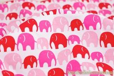 #pink elephant! I would love sheets with this print!!