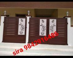 Grill Gate Design, House Main Gates Design, Single Floor House Design, Steel Gate Design, Front Gate Design, Door Gate Design, House Front Gate, Front Gates, Entrance Gates