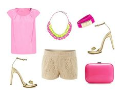 Blusa: Mango, Clutch: Zara Mango Fashion, Manga, Lace Shorts, Camel, Beige, Princess, Pink, Outfits, Spring Fashion