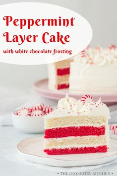 This peppermint cake