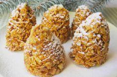 """""""Burfi"""" - dulciuri lactate indiene, ce se prepară fără coacere...într-o cutie pentru ouă! - Bucatarul New Year's Desserts, No Bake Desserts, Dessert Recipes, Milk Toffee, Corn Flakes, Condensed Milk, 4 Ingredients, Deserts, Yummy Food"""