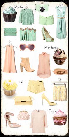 cupcakes and fashion //PASTELES Y TENDENCIAS