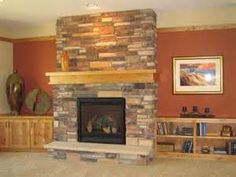 Gas Stone Fireplace lumbermans lincoln; heat & glo 6000clx gas fireplace, boral wolf