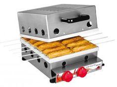 Máquina de Crepe Suíço a Gás PRK 120G - c/ Capacidade p/ 12 Crepes Progás Inox
