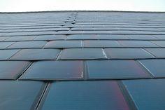 Solar cell roofing shingles for houses. http://www.domestic-solar-panels.info/solar-panel-shingles.html DSC_0135