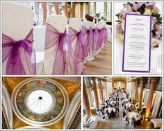 Signet Library... I like the purple shears on the chairs