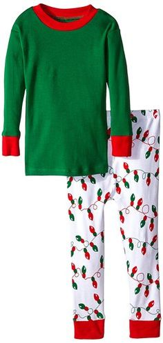 new jammies little boys snuggly pajama christmas lightssolid green 7 christmas
