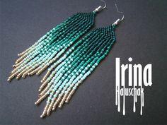 SUPER PRICE Beaded earrings seed bead earrings modern