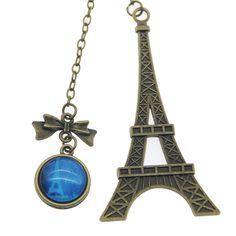 Nuovo Arrivo Torre Eiffel Dell'annata del Metallo Segnalibri Per Il Libro Elemento Creativo Scherza il Regalo Corea Cancelleria Gratuito 426