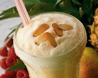 Sparkling Peaches and Cream
