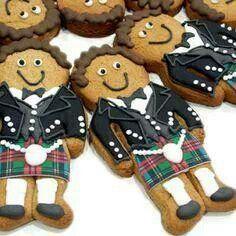 Kilted Cookies