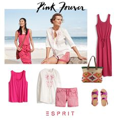 #Esprit #tops, #dresses and #shorts in the happiest colour of the summer … #pink
